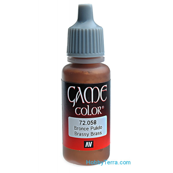 Game Color, Brassy Brass, 17ml