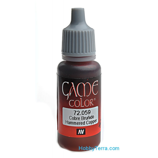 Game Color 17ml. 059-Hammered copper
