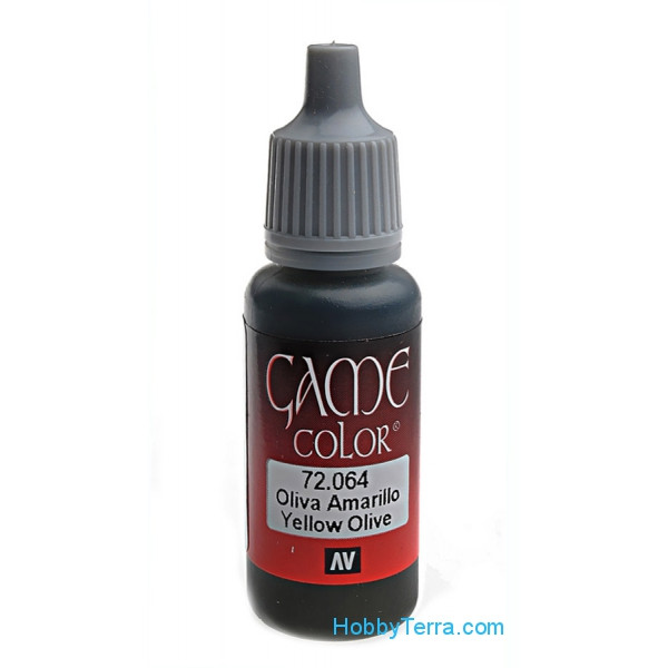 Game Color 17ml. 064-Yellow olive