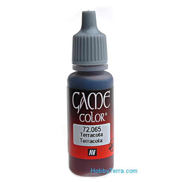 Game Color 17ml. 065-Terracotta