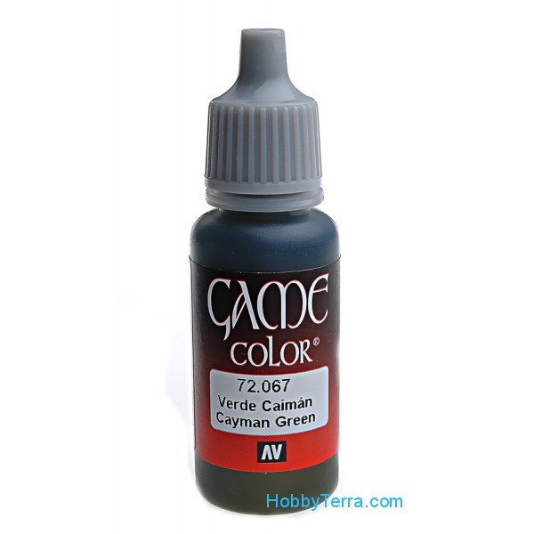 Game Color 17ml. 067-Cayman green