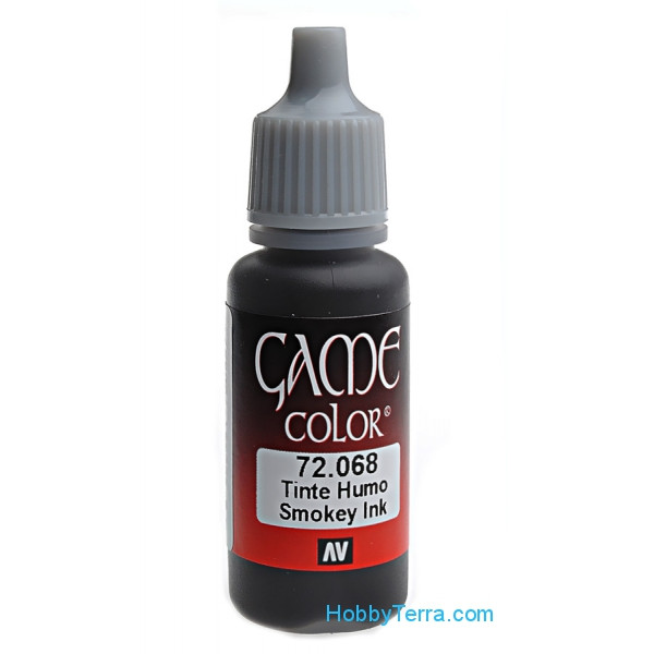 Game Color 17ml. 068-Smokey Ink