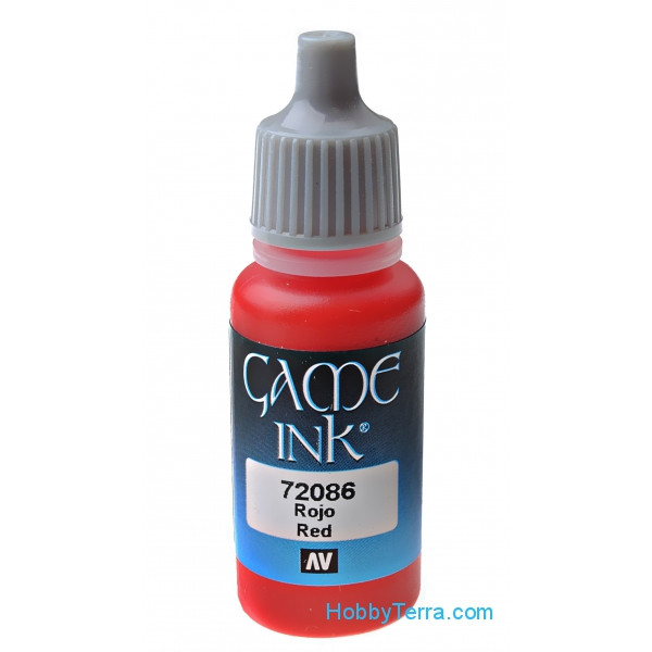 Game Color 17ml. Inky Red