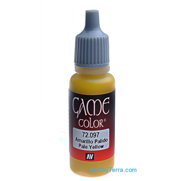 Game Color 17ml. 097-Pale yellow