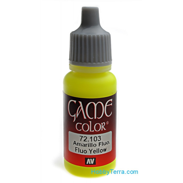 Game Color 17ml. 103-Fluo yellow