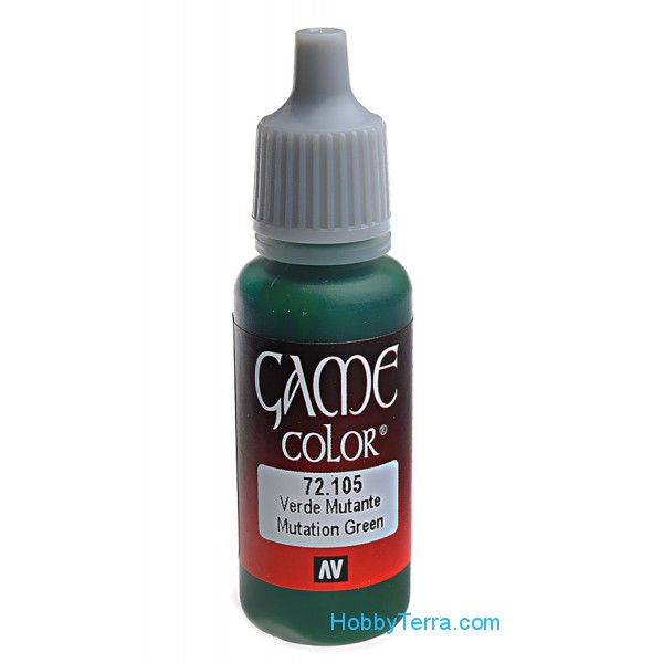 Game Color 17ml. 105-Mutation green