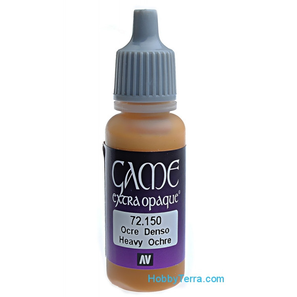 Game Extra Opaque 17ml. 150-Heavy ochre
