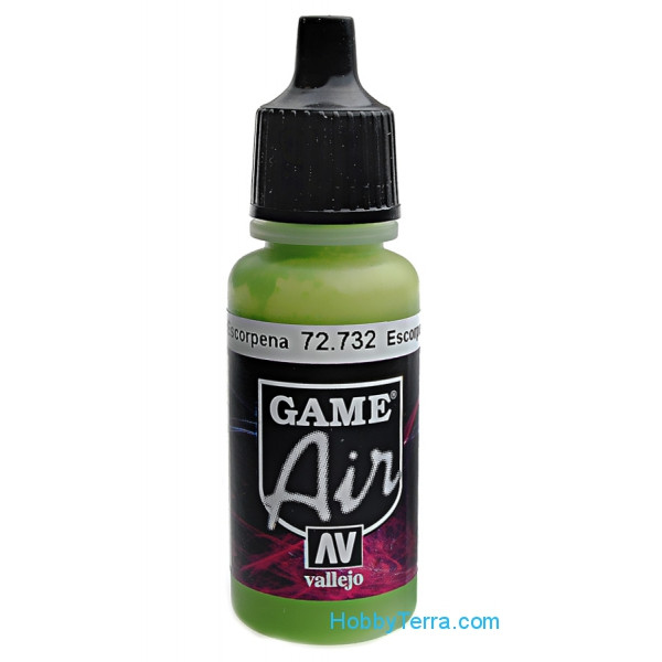 Game Air, Scorpy Green, 17ml