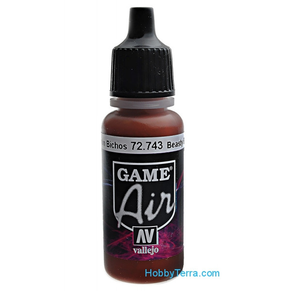 Game Air, Beasty Brown, 17ml