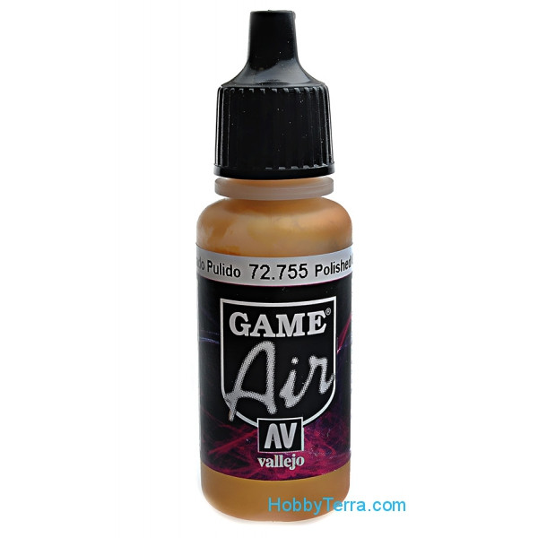 Game Air, Polished Gold, 17ml