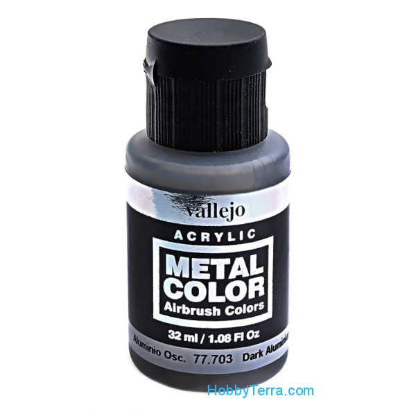 Metal Color 32ml. Dark aluminium