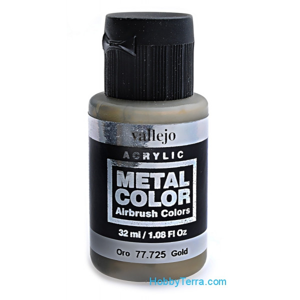 Metal Color 32ml. Gold
