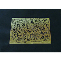 Photo-etching: Airbrush stencil (type 1)