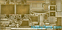Photo-etched set 1/35 for Su-76M self-propeiied gun, exterior