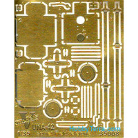 Photo-etched set 1/35 UNA-42 Soviet field telephone