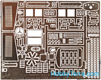 Vmodels  35032 Photo-etched set 1/35 MB type L 3000S, for ICM kit