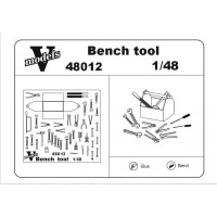 Photoetched set of details Bench tools