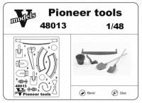 Photoetched set of details Pioneer tools