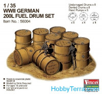 WWII German 200L Fuel Drum