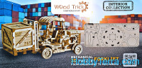 "Mechanical 3D-puzzle ""Forklift"""