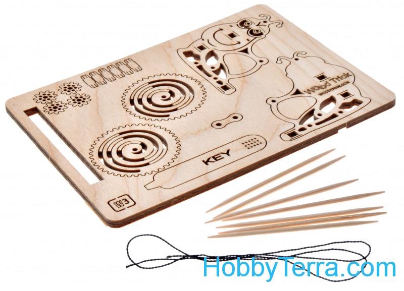 Wood Trick W03 Mechanical 3D-puzzle