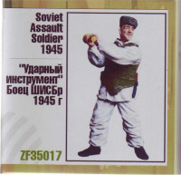 Soviet Assault Soldier, 1945
