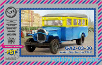 GAZ-03-30 Soviet city bus (model 1945)