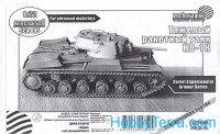 KV-1K Soviet heavy rocket tank, plasic/resin