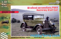 Red army staff car