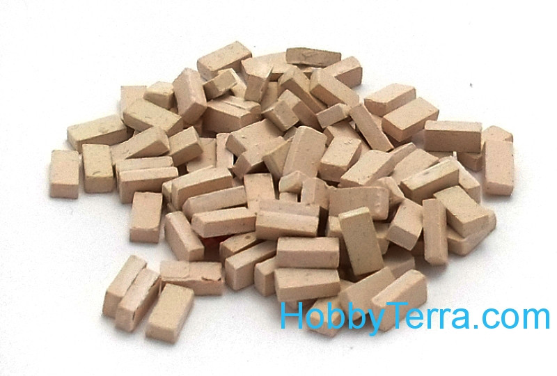 Bricks, 100 pcs