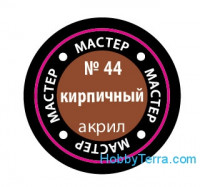 "Brown-red №44 Acrylic Model Paint ""Master Acryl"" 10ml"