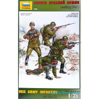 Red Army infantry, set 2