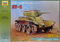 BT-5 WWII Soviet light tank