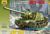 ISU-122 WWII Soviet tank destroyer