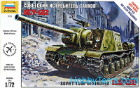 ISU-122 Soviet tank destroyer. Snap fit