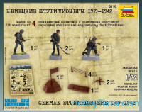 German sturmpioniere, 1939-1942
