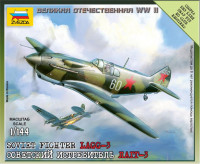 LaGG-3 Soviet fighter, scale 1/144