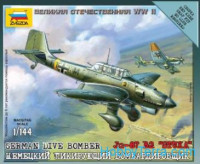 Aircraft in 1:144 scale Junkers Ju 87B-2 Stuka
