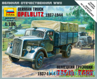 German truck Opel Blitz 1937-1944, scale 1/100