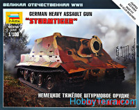 "German heavy assault gun ""Shturmtigr"""