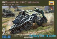 Great Patriotic War. Tank battle