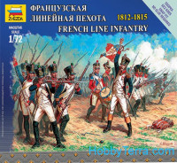 French line infantry, 1812-1815
