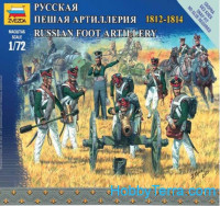 Russian foot infantry, 1812-1814