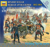 French foot infantry, 1812-1814