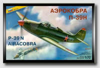 "P-39N ""Airacobra"" Soviet fighter"