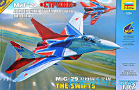 The Swifts MIG-29 Aerobatic team