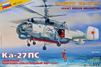 Ka-27PS Soviet rescue helicopter
