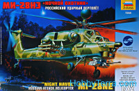 Mil Mi-28N Russian attack helicopter