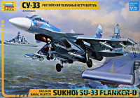 Su-33 Russian navy carrier fighter