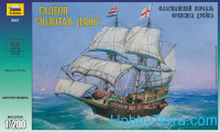 "Francis Drake""s ""Golden Hind"" galleon"